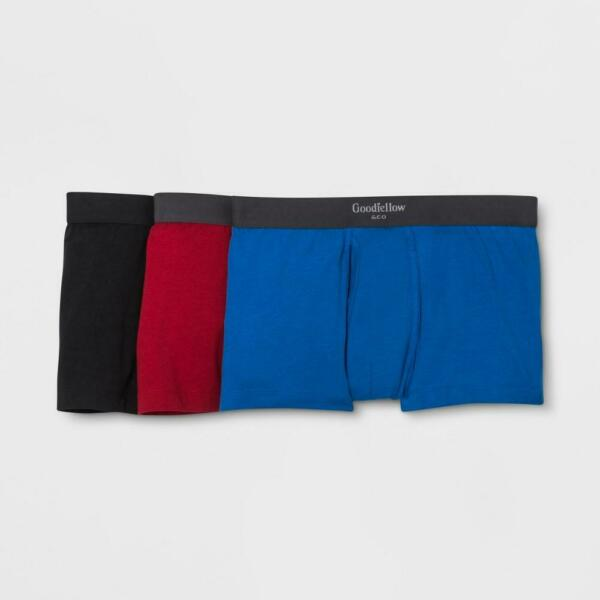 Men#x27;s Premium Knit Trunk 3pk Goodfellow amp; Co. S $12.89