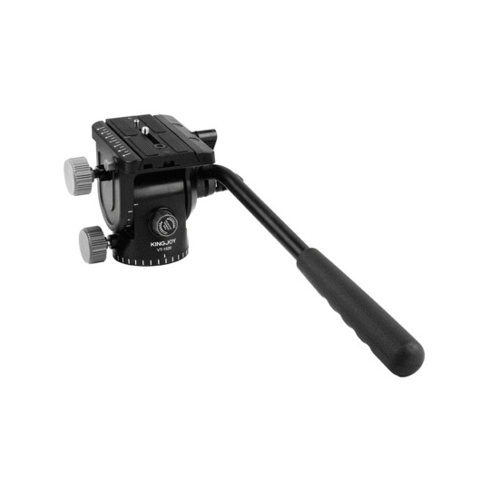NEW KingJoy VT 1510 Fluid Tripod Head with Quick Release