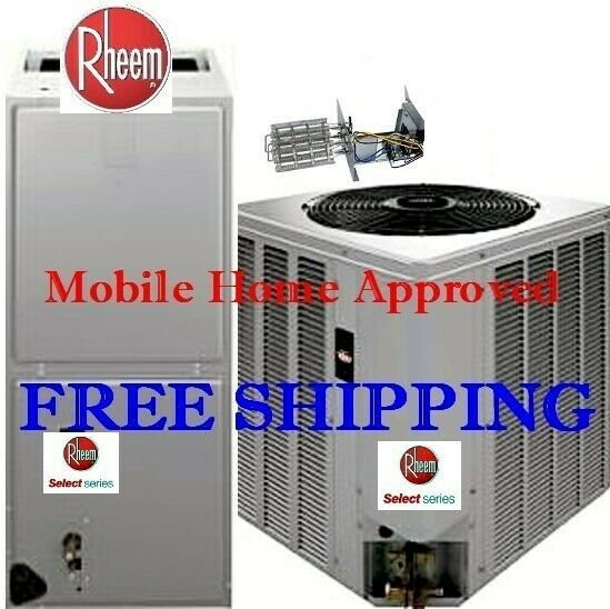 4 Ton 14SEER Mobile Home Electric Heat System Condenser Air Handler with Coil $2370.00