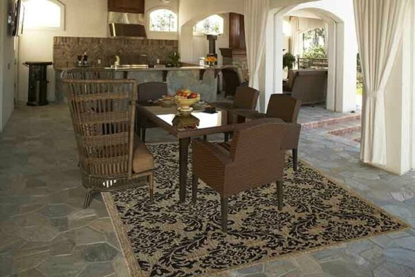 Grandeur Indoor Outdoor Rugs Flatweave Contemporary Patio Pool Camp