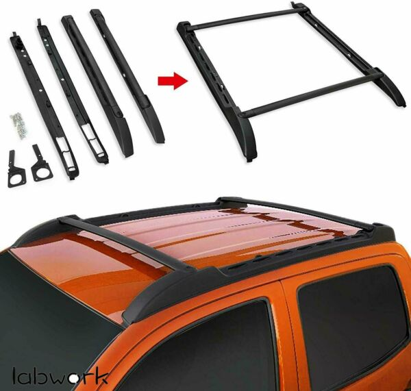 Roof Rack for 2005 2019 Toyota Tacoma Double Cab Cross Bars Side Rails Set US $105.88