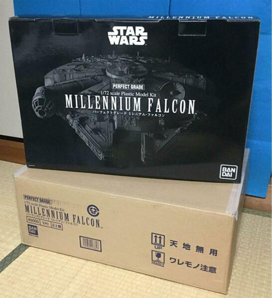 Premium Bandai Perfect Grade 172 Star Wars A New Hope Millennium Falcon Kit