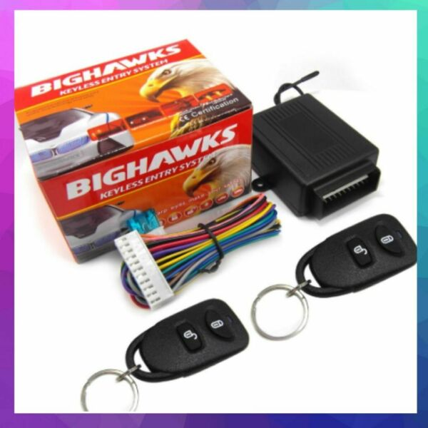 Universal Car Central Door Lock Keyless Entry System Remote Control Hot 8114 $19.94