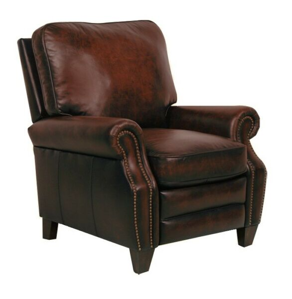 Briarwood II Leather Recliner - Stetson Coffee (curbside delivery)