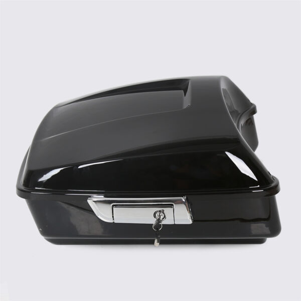 Black Chopped Tour Pak Pack Trunk For Harley Touring Electra Road Glide 14 2020 $170.00