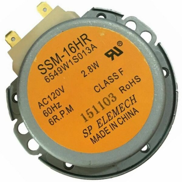 OEM Microwave Turntable Motor 6549W1S013K For LG LMV1630BB LMV1630WW LMV1683SW