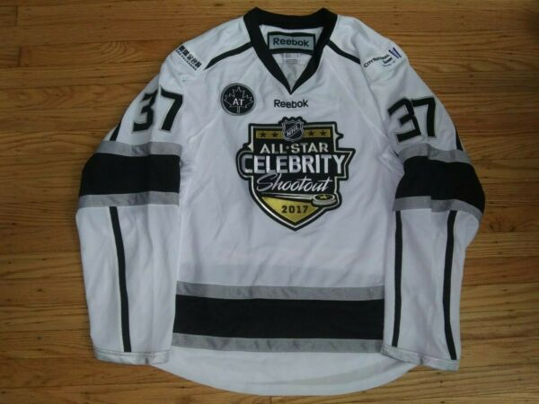 TIM ROBBINS ACTOR GAME WORN 2017 NHL CELEBRITY ALL STAR GAME HOCKEY JERSEY kings