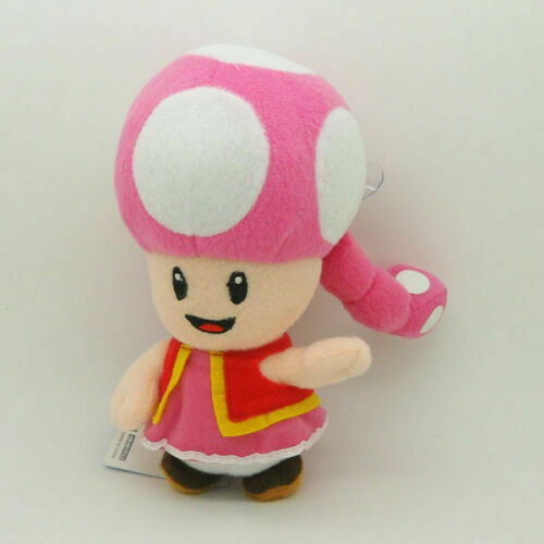 Toadette 7in Super Mario Bros Plush Toy Game Collectible Doll Xmas Gifts $13.99