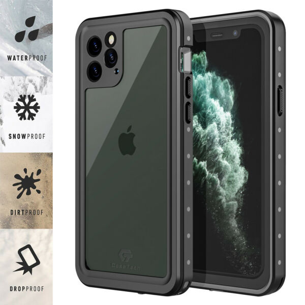 For Apple iPhone 11  11 Pro Max Case Waterproof FRE w Screen Protector Series