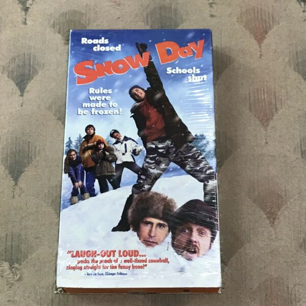 Snow Day (VHS 2000) Very Funny Family Movie Chevy Chase