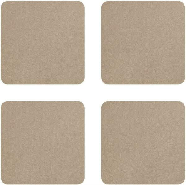 Coasters Leather Trivet Coasters Placemat Glass Faux Leather