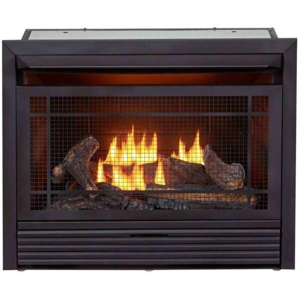 Duluth Forge Recon Dual Fuel Ventless Gas Fireplace Insert Remote FDF300R R