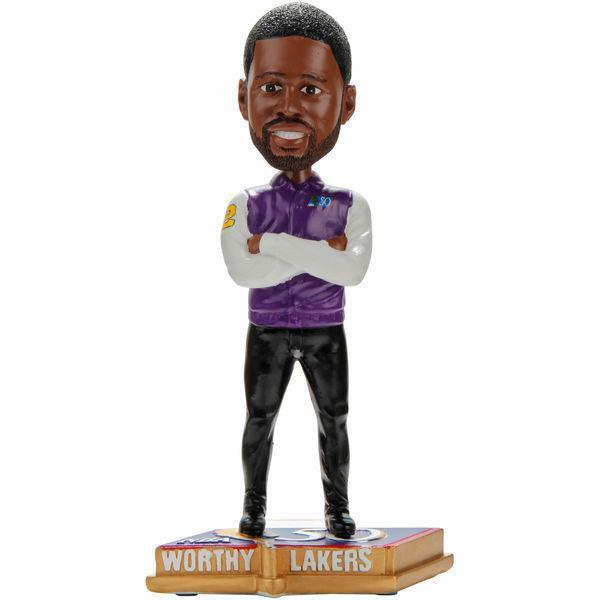 James Worthy Los Angeles Lakers NBA Legends 50 Greatest Players Bobblehead NBA