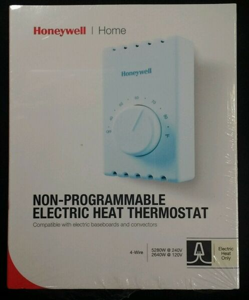 Honeywell Home Non Programmable Electric Heat Thermostat Model CT410B1017 NOS $11.47