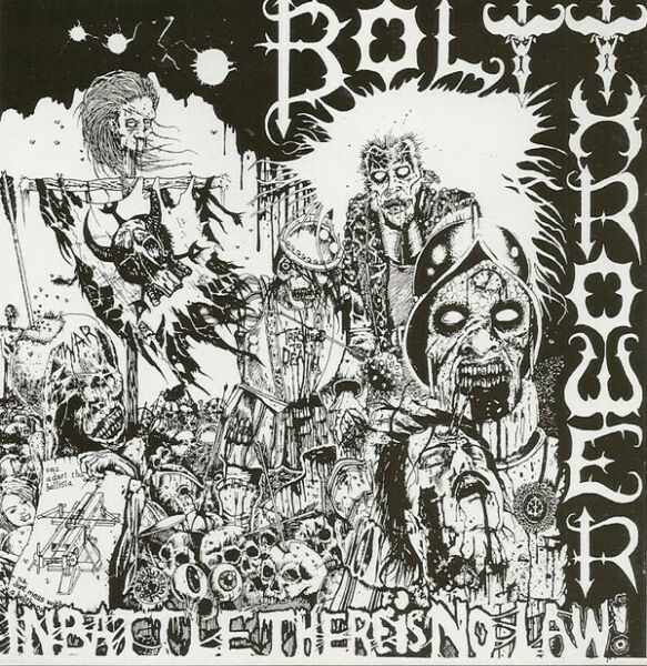 Bolt Thrower – In Battle There Is No Law! CD