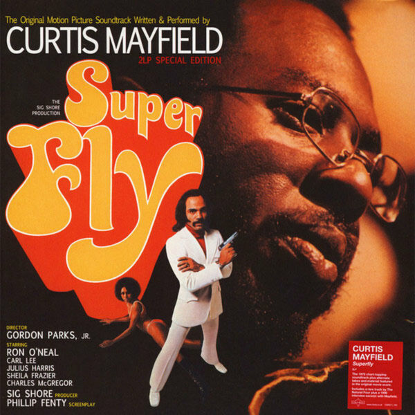 Curtis Mayfield - Super Fly 2LP Special Edition (Orange Vinyl) New Sealed!