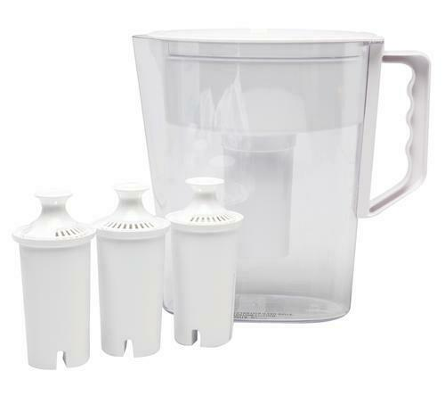 Brand NEW Sealed Brita Slim Pitcher 5 cup white and 4 Filter Bundle Pack