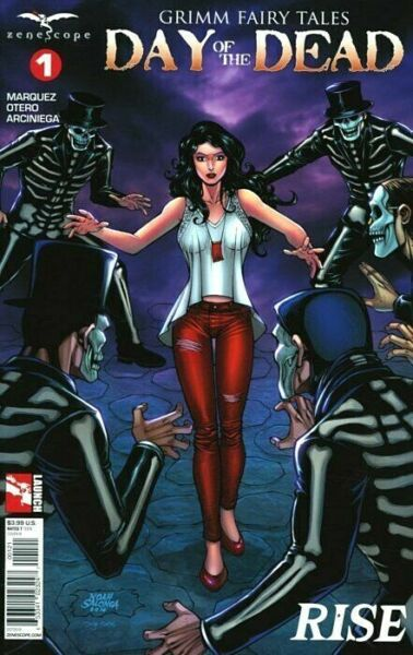 Grimm Fairy Tales DAY OF THE DEAD #1B (NM) SALONGA variant Zenescope 2017