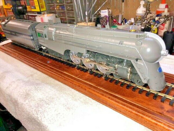 Lionel Smithsonian Dreyfuss Hudson 2 Rail #6-18026 Number 258 of 500 Produced