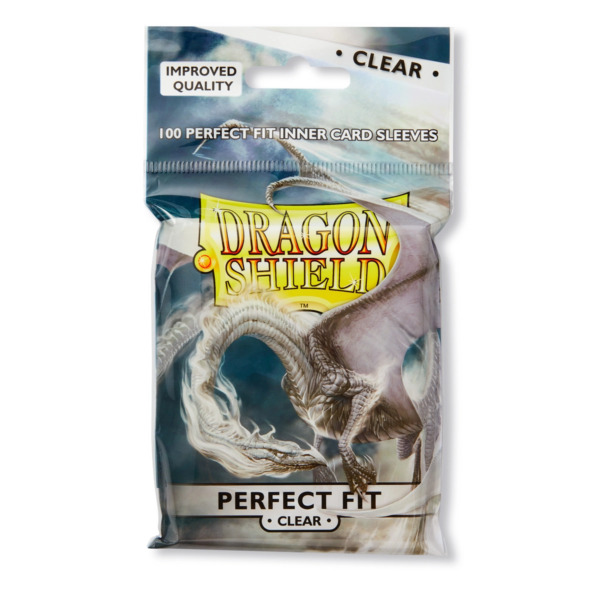 Perfect Fit Clear 100 ct Dragon Shield Sleeves Standard Size 10% OFF 2 $6.60