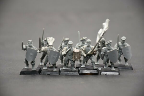 Warhammer AoS Cities of Sigmar Freeguild Guard wSwords & Full Command (10)