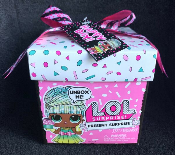 LOL Surprise Present Gift Box Series Sister Birthday Month Party Doll In Hand
