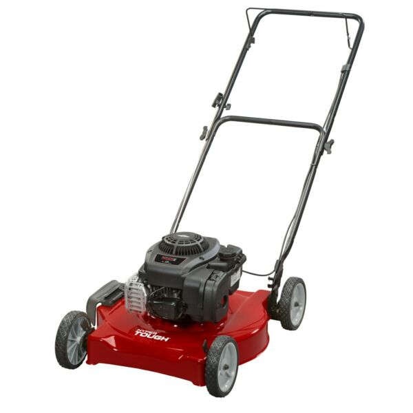 Lawn Mower Briggs and Stratton 20quot; 125cc Gas Push Side Discharge Lawn Mower $199.99
