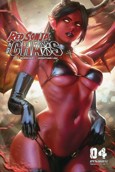 RED SONJA AGE OF CHAOS #4 COVER D CHEW VARIANT DYNAMITE EB144 $3.39