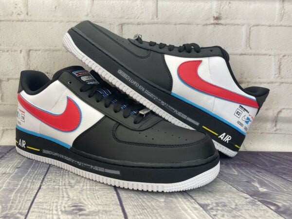 Nike Air Force 1 Low '07 QS Motorsport Shoes AH8462-004 Men's Size 13 BRAND NEW
