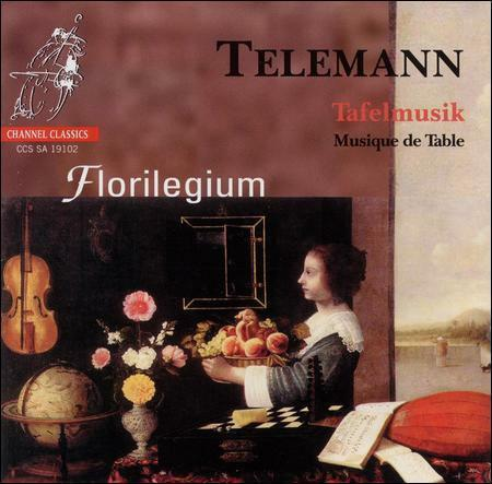 Tafelmusik Musique De Table From Parts 1amp;2 Florilegium CD 2003