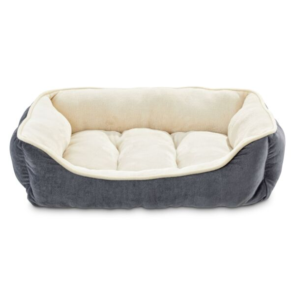 Animaze Gray Bolster Dog Bed $13.59
