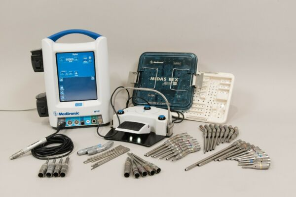 Medtronic EM200 Stylus Drill Set with IPC & 44 Attachments - Simon Medical Inc
