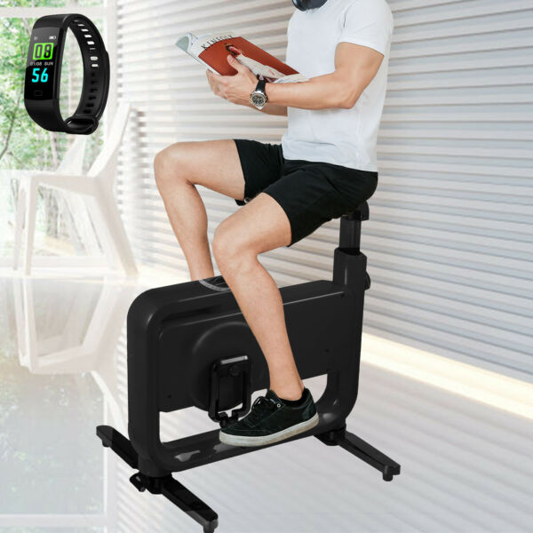 Fodable Exercise Bike Desk Bike Smart Band Home Magnetic Control Anti skid Feet $109.99