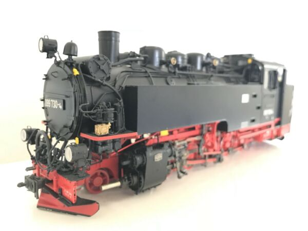 Hübner 7K Br 099 730-4 Viik Narrow Gauge 1e Steam T3000 Digital with Sound Boxed