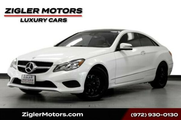 2015 Mercedes-Benz E-Class E 400 Coupe Panoramic Roof Driver Assist Active Cr 2015 Mercedes-Benz E-Class 65128 Miles