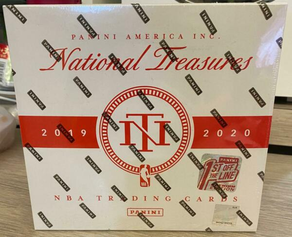 2019-20 NATIONAL TREASURES PREMIUM EDITION 1ST OFF THE LINE SEALED BOX