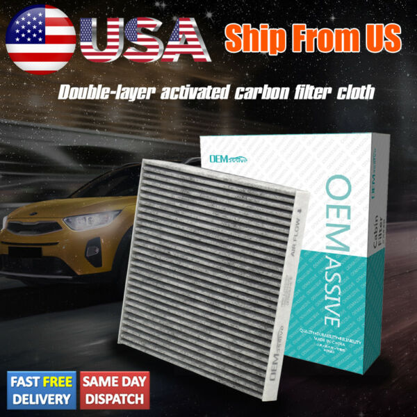 68223044AA Car Activated Carbon Cabin Air Filter For Jeep Cherokee Chrysler 200