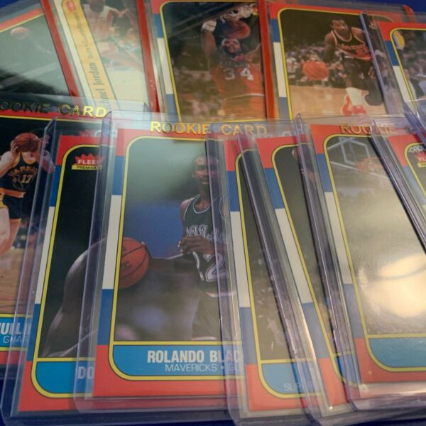1986-87 Fleer Basketball - Cards #1-132 - Choose From The List