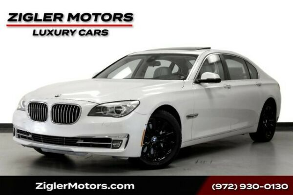 2013 BMW 7-Series 740Li Low Miles Clean Carfax Mineral White Driver 2013 BMW 7 Series 42188 Miles