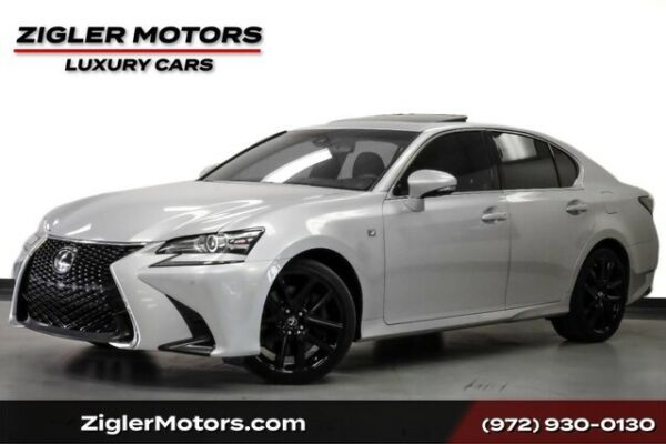 2017 Lexus GS GS 350 F Sport One Owner Clean Carfax Driver Assis 2017 Lexus GS 57748 Miles