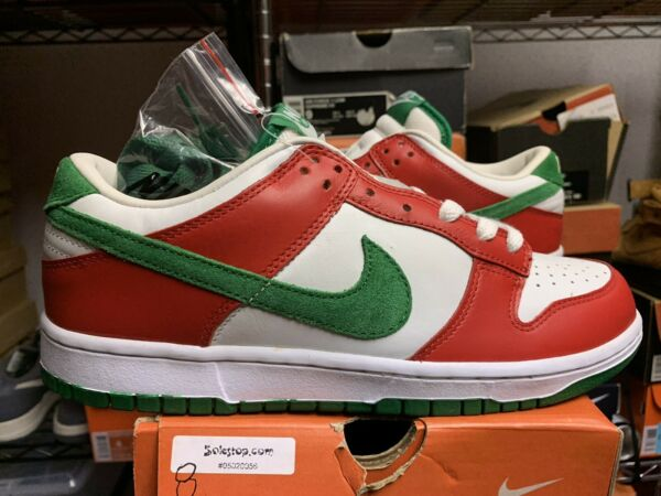 2004 Nike Dunk Low LTD Sz 8 307734-131 Co.jp SB Christmas Italy 100% AUTHENTIC