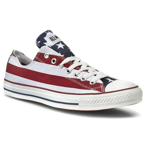 Converse All Star OX Chuck Taylor Low # M3494 American Flag Stars and Stripes