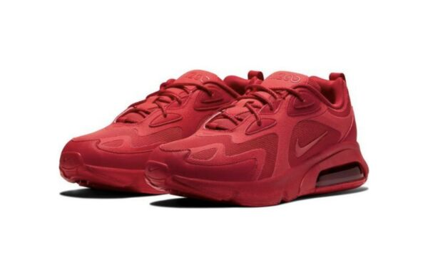 NWB Nike Air Max 200 Men's Athletic Sneakers Size 12 University Red