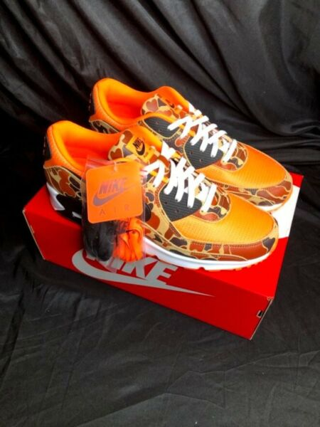 Air Max 90 Duck Camo Orange Size 15 - In hand ready to ship