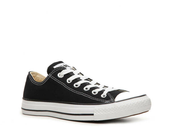Converse Chuck Taylor All Star OX LOW Canvas Women Shoes Black Size 12