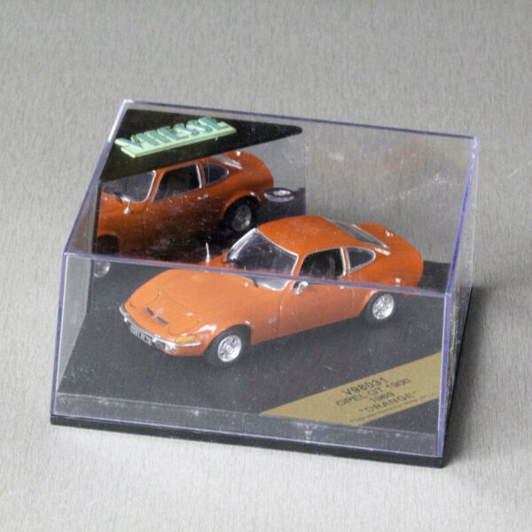 Modellauto OPEL GT 1900 ORANGE von VITESSE Scale 1:43