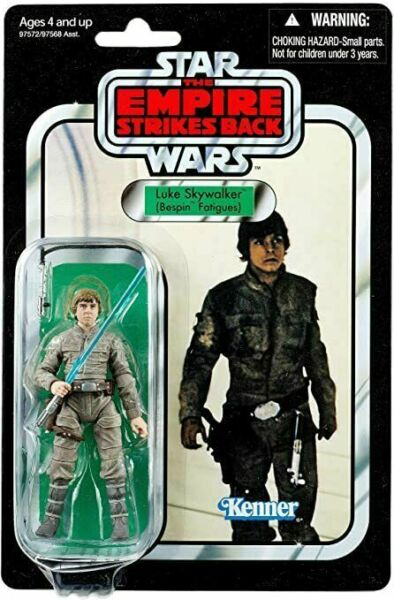 Star Wars Vintage Collection Luke Skywalker Bespin Fatigues Action Fig *IN STOCK