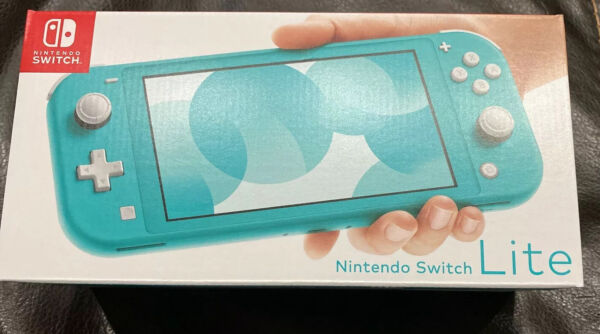 Nintendo Switch HDHSBAZAA Lite Console 32GB - Turquoise -Brand New-Same Day Ship