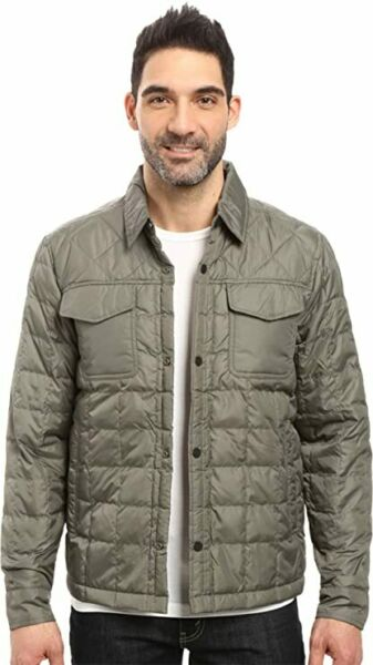 NWT Timberland Mens Thermofibre Shirt Jacket Olive Green Size XL $49.50