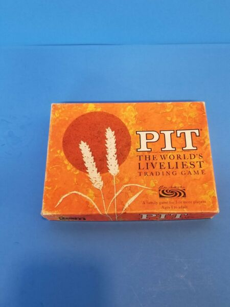 1964 Parker Bros. PIT Game 660 Complete in Box w Instructions